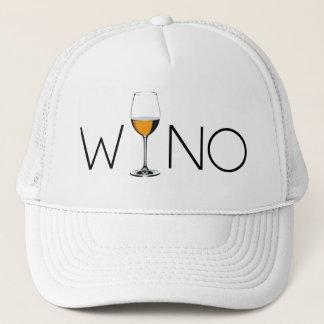 Wino Wine Lover Glass Trucker Hat