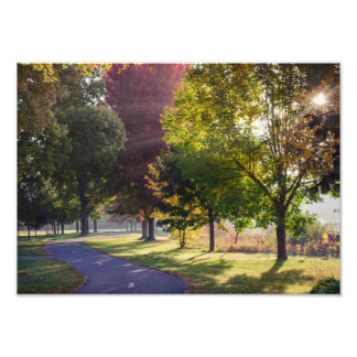 Winona Lake Path Photo Print