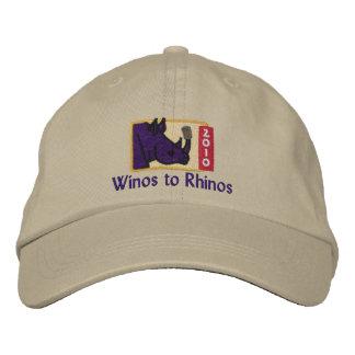 Winos to Rhinos Cap