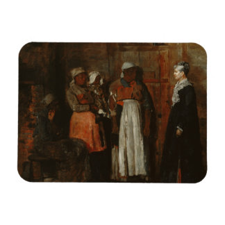 Winslow Homer - A Visit from the Old Mistress Magnet