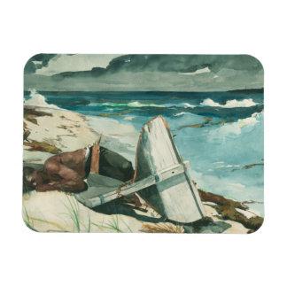 Winslow Homer - After the Hurricane, Bahamas Rectangular Photo Magnet