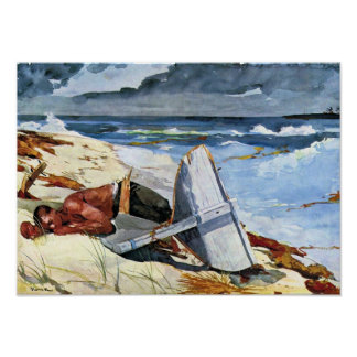 Winslow Homer - After the tornado Posters