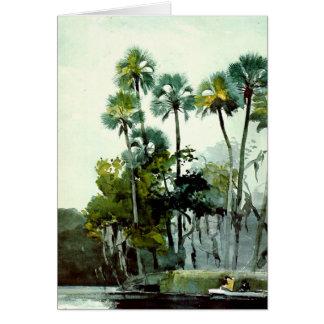 Winslow Homer - Homosassa River Card