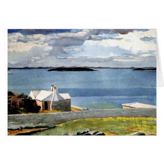 Winslow Homer - Inland Water, Bermuda Card