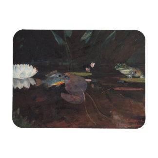 Winslow Homer - Mink Pond Rectangular Photo Magnet