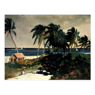Winslow Homer - Nassau Postcard