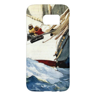Winslow Homer painting, Diamond Shoal Samsung Galaxy S7 Case