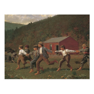 Winslow Homer Snap The Whip Postcard