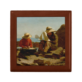 Winslow Homer - The Boat Builders Jewelry Box