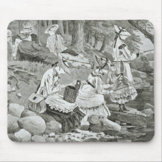 Winslow Homer - The Fishing Party Mouse Pad