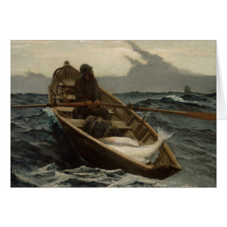 Winslow Homer - The Fog Warning Card