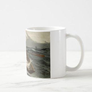 Winslow Homer - The Fog Warning Coffee Mug