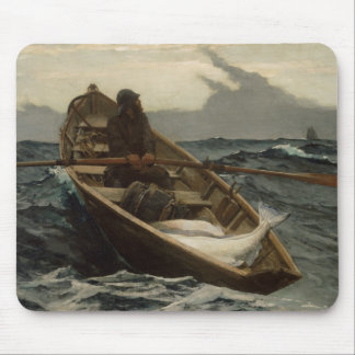 Winslow Homer - The Fog Warning Mouse Pad