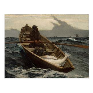 "Winslow Homer - ""The Fog Warning"" Postcard"
