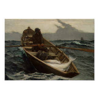 Winslow Homer - The Fog Warning Poster