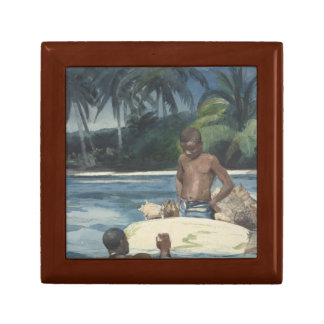 Winslow Homer - West India Divers Gift Boxes