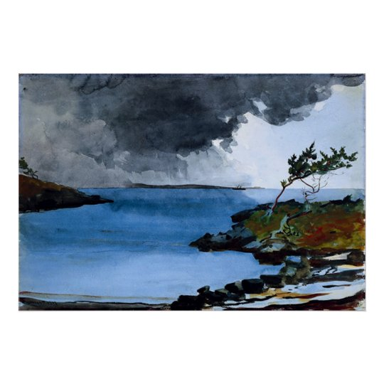 "Winslow Homer's ""The Coming Storm"" - Print"