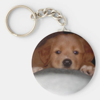 Winsome Pup Keychain