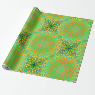 Winston Chartreuse Fiesta Wrapping Paper