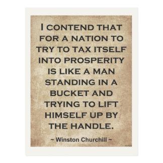 Winston Churchill #1 Postcard