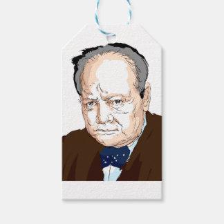 Winston Churchill Gift Tags