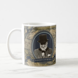Winston Churchill Historical Mug