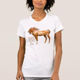 Winston Churchill Horse Quote Women's T Shirt