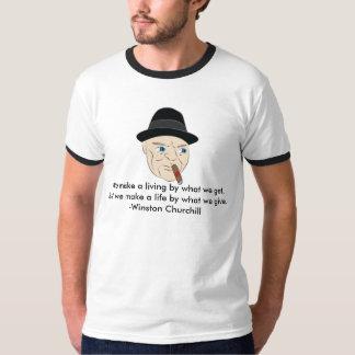 Winston Churchill Inspirational Shirt