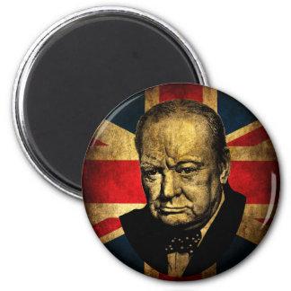 Winston Churchill Magnet