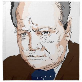 Winston Churchill Napkin