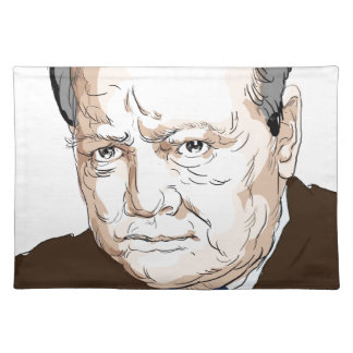 Winston Churchill Placemat