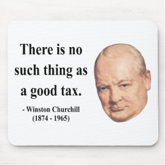 Winston Churchill Quote 14b Mouse Pad