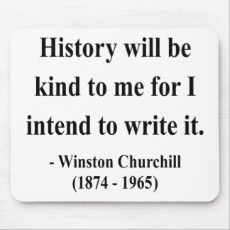 Winston Churchill Quote 7a Mouse Pad