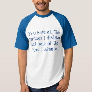 Winston Churchill Quote T-shirt