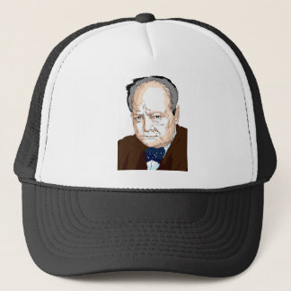 Winston Churchill Trucker Hat