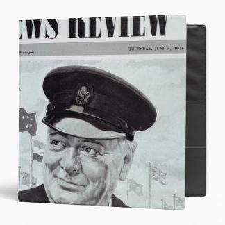 Winston Churchill Vinyl Binder