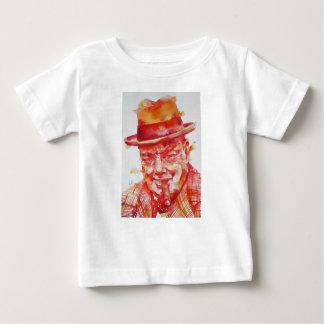 winston churchill - watercolor portrait baby T-Shirt