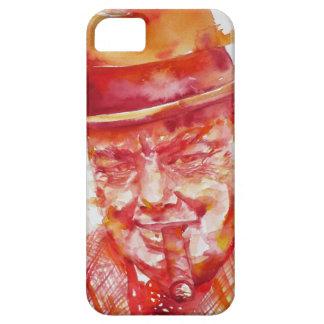 winston churchill - watercolor portrait iPhone 5 cover