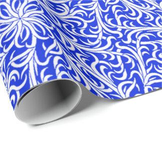 Winston Delft Blue White Wrapping Paper