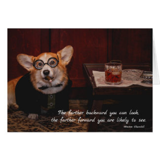 Winston Furchill Birthday Card