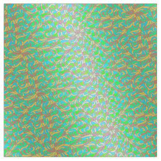 Winston Op Art Emerald Green Fabric