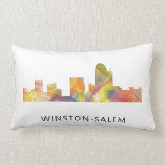 WINSTON - SALEM, NTH CAROLINA SKYLINE - LUMBAR PILLOW