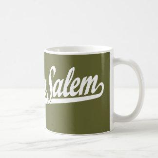 Winston-Salem script logo in white Coffee Mug