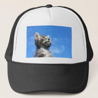 Winston the Tabby Aviator Cat Trucker Hat