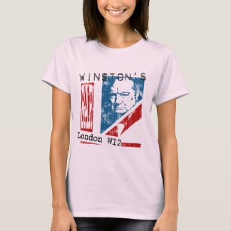 Winston's Bar, London (worn look) T-Shirt