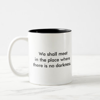 Winston's Dream Two-Tone Coffee Mug