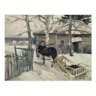 Winter, 1894 postcard