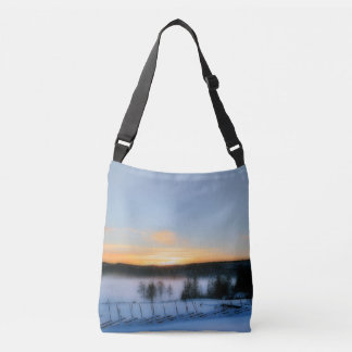 Winter Afternoon Crossbody Bag