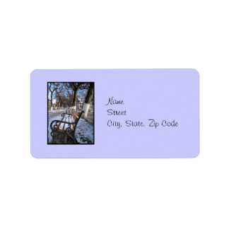 Winter Alley  Address Label