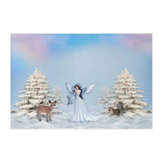 Winter Angel Acrylic Wall Art